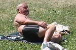 Letní koupaliště v Čáslavi.