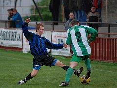 Fotbal I. A třída: K. Hora - Zásmuky 4:0, neděle 8. listopadu 2009