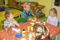 Výtvarné činnosti jsou stalé mezi dětmi oblíbené. Proto patří na praxích mezi základ