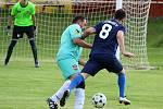 Fotbalová III. třída: TJ Sokol Červené Janovice - FK Záboří nad Labem 1:2 (0:0).