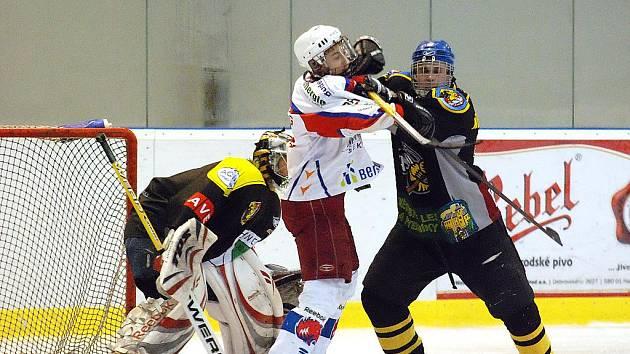 4. kolo Krajské ligy juniorů: Kutná Hora - Beroun, 16. října 2010.