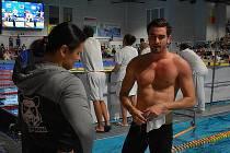 Kutnohorský plavec Adam Ťok.