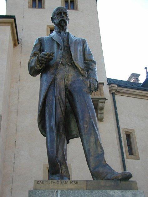 Socha Tomáše Garrigue Masaryka v Kutné Hoře.