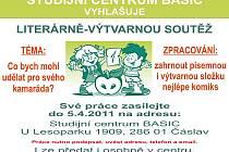 Literárně-výtvarná soutěž Studijního centra Basic Čáslav.