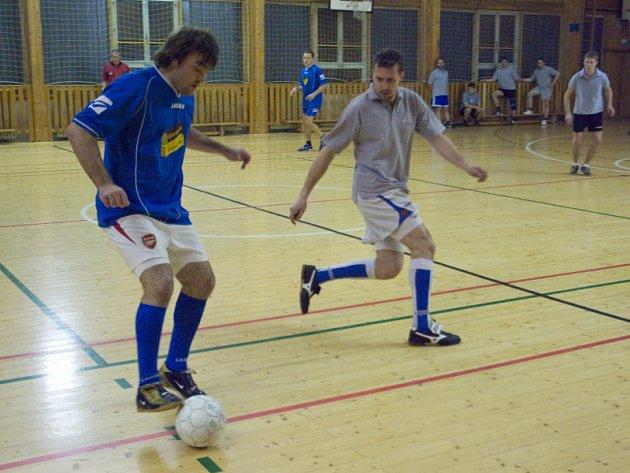 Futsal liga: 10. hrací den kutnohorské Futsal ligy Restaurace Na Valech, čtvrtek 15. ledna 2009