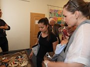 Žáci základní umělecké školy vystavili své práce.