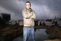 JONÁŠ ČERVINKA ALIAS LIPO, člen oceňované liberecké kapely BPM.
