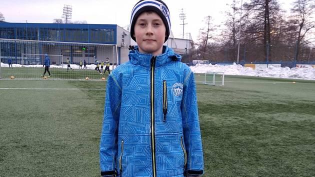 Fanda, který válí za mládež Slovanu má o titulu jasno