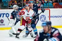 Extraliga hokej Mountfield Hradec Králové vs. Liberec.