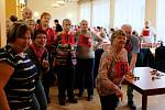 První letošní turnaj frýdlantských, libereckých, jabloneckých a českolipských seniorů v šipkách se konal ve frýdlantské Besedě.