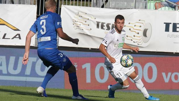 MFK Karviná - FC Slovan Liberec 0:1.