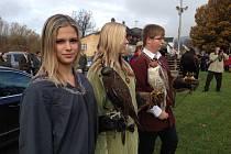 Svatohubertské slavnosti. Fascinující podívanou zažily v pátek dopoledne Hejnice.