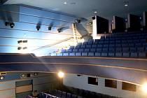 Kinosál nově digitalizovaného kina ve Frýdlantu.