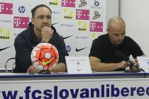 Ligový fotbal/ Slovan Liberec vede nový trenér Trpišovský.