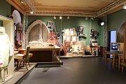 Výstava věnovaná pohádce Tři oříšky pro Popelku potěší návštěvníky zámku Moritzburg.