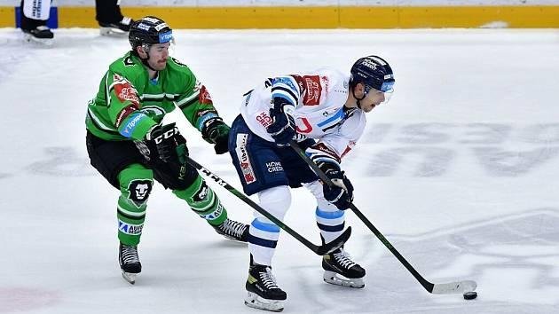 Bílí Tygři zdolali Mladou Boleslav 4:3 v prodloužení a mají dva body.
