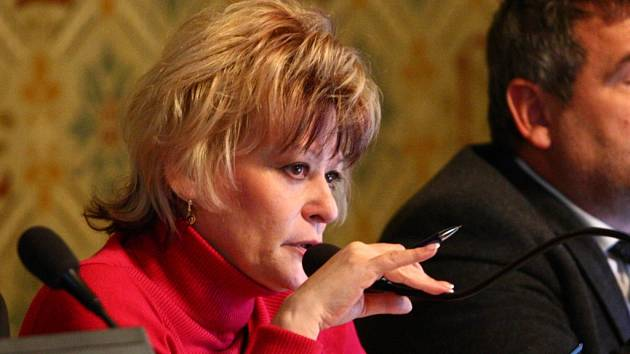Liberecké zastupitelstvo - primátorka Martina Rosenbergová.