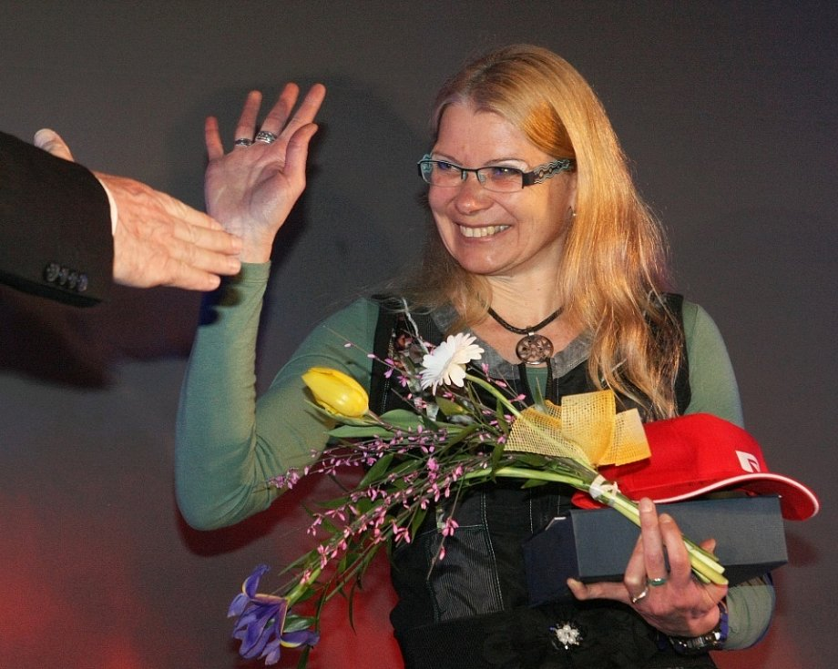 Netradiční sportovní výkon Ivana Pilařová, běžkyně maratonů.