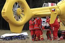 V sobotu 20. dubna se na raftu převrátil muž okolo šedesáti let a spadl do řeky Kamenice poblíž obce Návarov na Jablonecku a byl zhruba tři minuty pod vodou.
