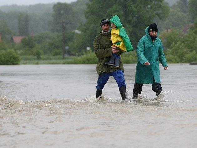 Višňová vždy povodně velmi odnese