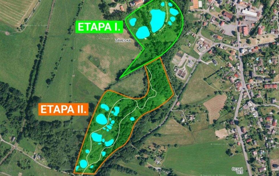 Vizualizace II. etapy rozšiřování.