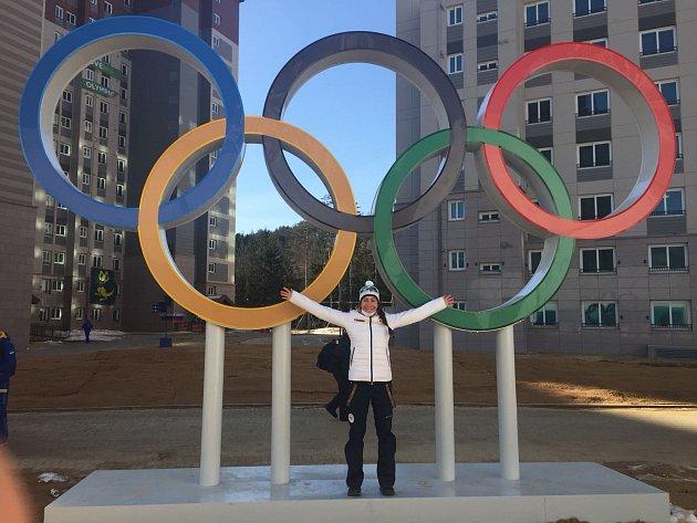 Čerstvá olympionička Petra Hynčicová.