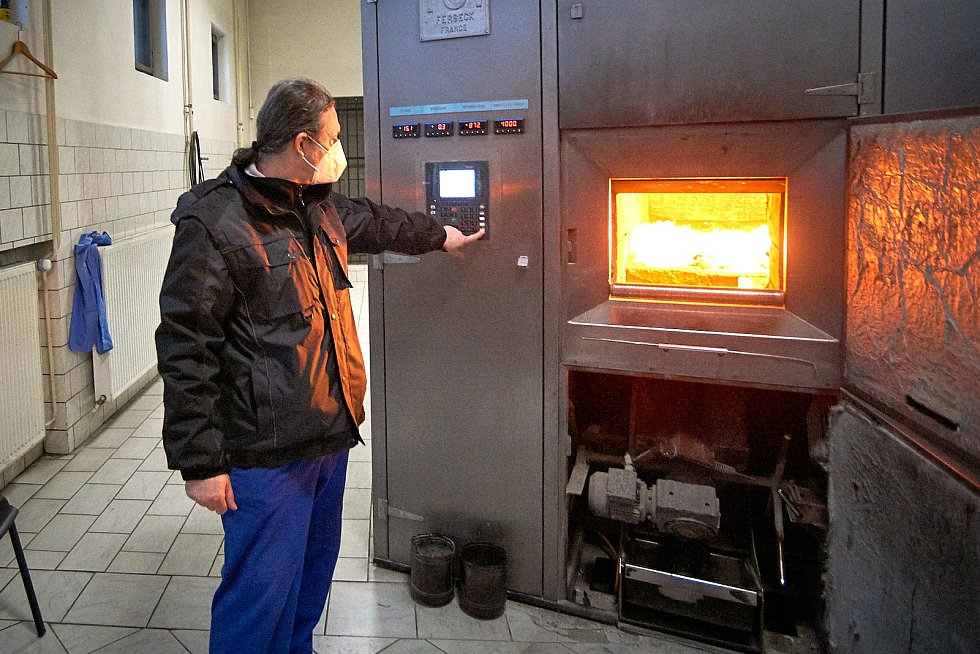 Krematorium Liberec. Pavel Hudec.
