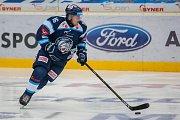 Utkání 21. kola Tipsport extraligy ledního hokeje se odehrálo 15. listopadu v liberecké Home Credit areně. Utkaly se celky Bílí Tygři Liberec a HC Sparta Praha. Na snímku je Marek Kvapil.