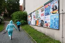 Volební plakáty. Ilustrační foto.