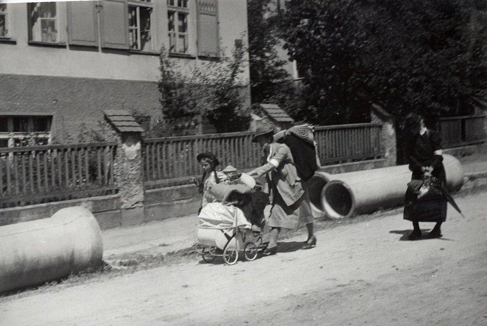 Odsun Němců z Liberecka.