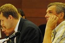 Jeden z obžalovaných Zdeněk Úlehla (vpravo) už v červnu soudu tvrdil, že je nevinný.