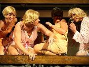 Bild vergrößern POPRVÉ MUZIKÁL ZAHRAJÍ DNES. Muzikál Sugar, který vznikl podle slavného filmu z roku 1959 Někdo to rád horké, zhlédnou první diváci v libereckém Šaldově divadle dnes večer.