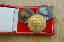 Milan Turek získal za bezpříspěvkové odběry zlatou medaili MUDr. J. Janského.