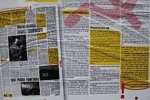 Spodní centrum Liberce zaplavily plakáty a cedule, které poukazují na dřívější tvorbu lídra za hnutí ANO v Libereckém kraji Martina Komárka.