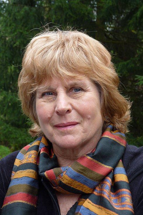 Novinářka a spisovatelka Pavla Jazairiová.