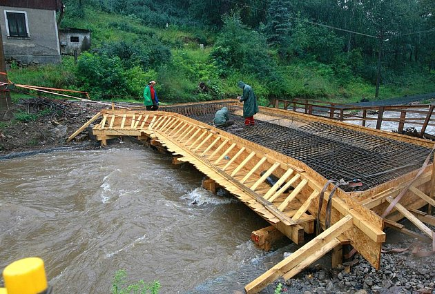Povodňová pohotovost na Liberecku.