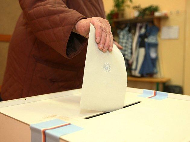 Volby v Libereckém kraji - Donín.
