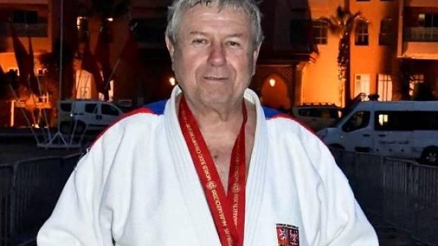 Úspěšný judista Milan Vágner.