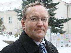 Generální ředitel krajské nemocnice Jiří Veselka