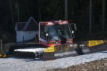 Poslední lyžování na Ještědu