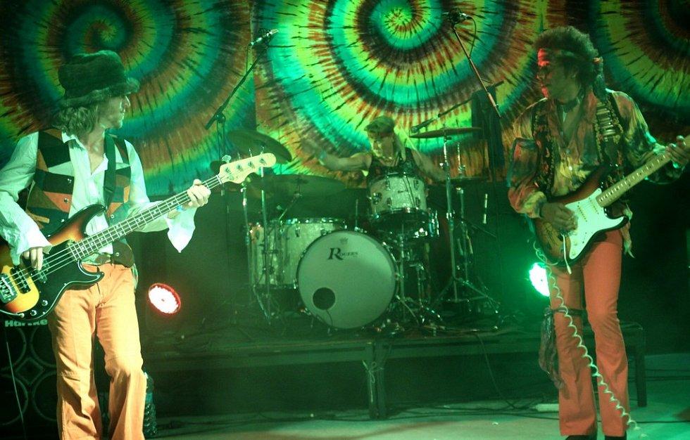 Jimi Hendrix Tribute – Stonefree Czech Experience na Woodstocku nad Nisou 2012.
