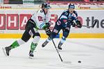 Utkání 31. kola Tipsport extraligy ledního hokeje se odehrálo 20. prosince v liberecké Home Credit areně. Utkaly se celky Bílí Tygři Liberec a BK Mladá Boleslav. Na snímku vpravo je Tomáš Havlín.