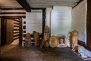 """Expozice Dlaskova statku v Dolánkách u Turnova """"Hospodářův rok"""" věnovaná tradičnímu způsobu zemědělství, obřadům a obyčejům, byla 21. července v rámci Dnů lidové architetury volně přístupná veřejnosti."""