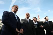 Prezident Klaus otevřel most v Chrastavě