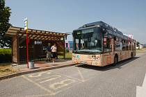Autobus v Liberci. Ilustrační fotografie.
