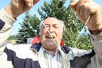 Olympiáda seniorů ve Vlčetíně.