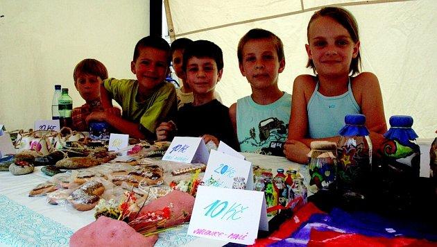 Žáci ze ZŠ v Husově ulici.