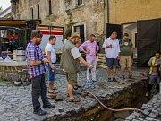 Zámecký pivovar začali znovu prozkoumávat archeologové.