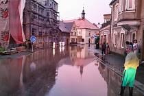 Na Liberecku řádila bouře.