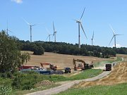 Větrné elektrárny Václavice, Uhelná.